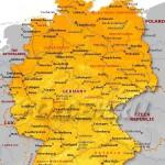 ФРГ на политической карте