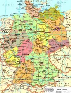 Данная карта страны Германия содержит важные научные данные для любителей карт и специалистов. Огромный объем информации вмещает в себя эта необычная карта государства. Пользуясь ею, вы будете иметь представления о стране Германия и найдете то что искали, приехав в эту страну. Эта карта содержит важные данные о государстве Федеративная Республика Германия. На ней изображено огромное [...]