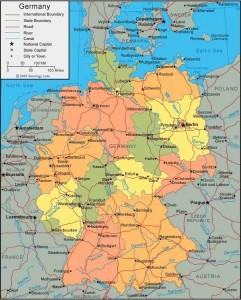 Данная качественная карта государства Германия содержит важные научные данные для учеников, учащихся ВУЗов и преподавателей. Эта карта позволяет получить представления о землях страны ФРГ. Различную полезную информацию включает в себя эта восхитительная карта страны. Имея ее под рукой, вы узнаете много нового о государстве Германия и не потеряетесь, приехав в эту страну. На ней обозначено [...]