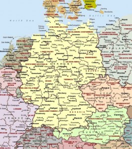 Большое количество важных данных содержит в себе эта по своему уникальная научная карта. С ней вы узнаете много нового о ФРГ и отыщете нужный объект, отправившись в командировку. Данная качественная карта Федеративной Республики Германия будет весьма интересна для учеников, учащихся ВУЗов и профессиональных ученых. Представленная здесь карта осведомляет нас о государстве Германия. На карту нанесено [...]