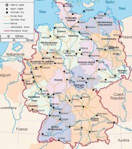 Эта большая карта территории Германии содержит важные научные данные для людей, изучающих науки, и картографов. Огромный объем информации вмещает в себя эта превосходная учебная карта. С помощью нее вы можете узнать о Германии и найдете нужное место, отправившись в командировку. Данная информативная карта позволяет получить представления о территории страны Германия. На ней изображено множество картографических [...]