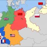 Историческая карта Федеративной Республики Германия