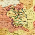 Историческая карта – нападение Германии на Польшу 1 сентября 1939 года