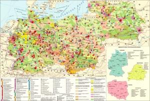 Германия и страны Восточной Европы на экономической карте
