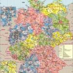 Большая политическая карта Германии
