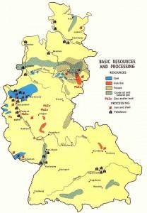 Ресурсы и месторождения Западной Германии