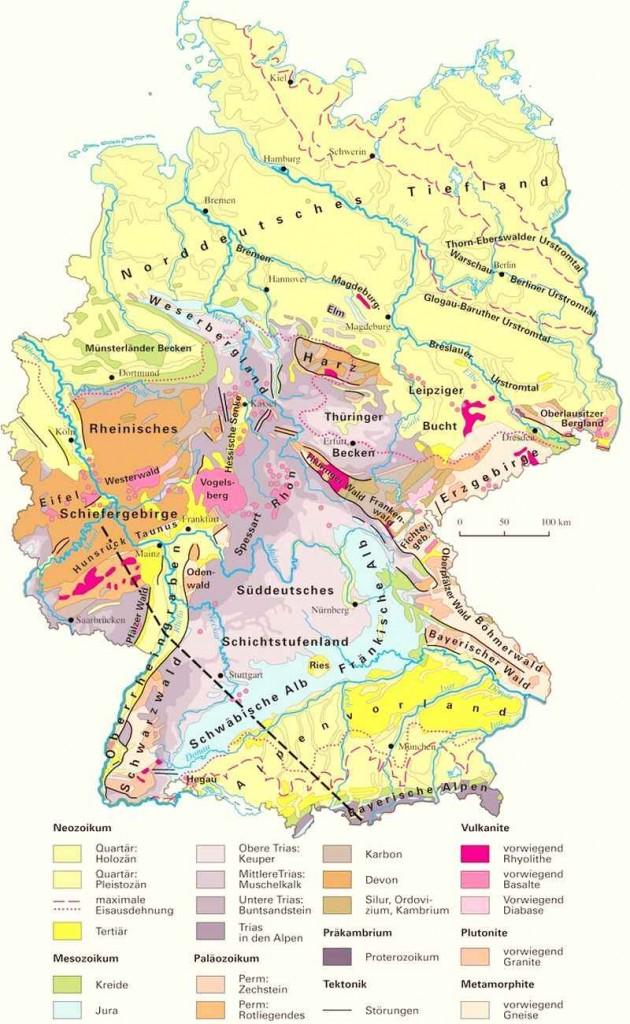 Геология Германии