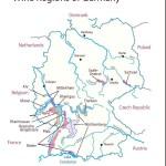 Карта районов виноделия Германии