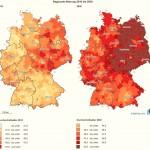 Как по прогнозу изменится средний возраст населения Германии к 2030 году