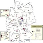 Самые известные пещеры Германии на карте